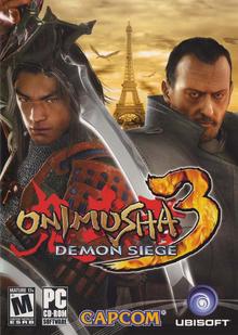 Box art for the game Onimusha 3: Demon Siege