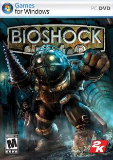 Capa do jogo BioShock