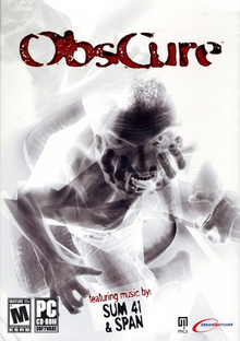 Box art for the game Obscure