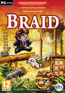 Box art for the game Braid