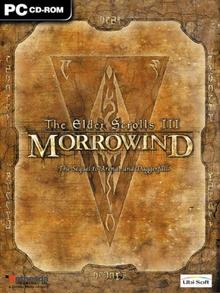 Box art for the game The Elder Scrolls III: Morrowind