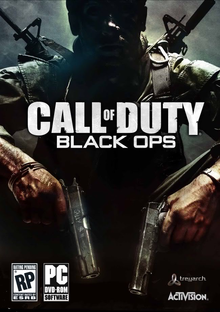Box art for the game Call of Duty: Black Ops