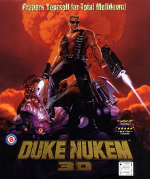 Box art for the game Duke Nukem 3D