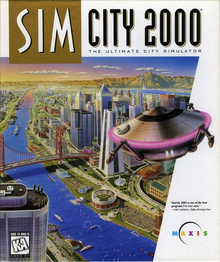 Box art for the game SimCity 2000