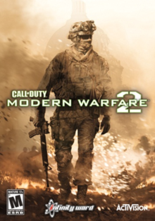 Box art for the game Call of Duty: Modern Warfare 2