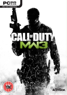 Box art for the game Call of Duty: Modern Warfare 3