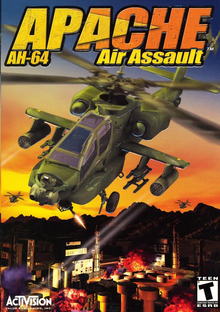 Capa do jogo Apache AH-64: Air Assault