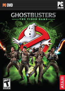 Box art for the game Ghostbusters: The Video Game