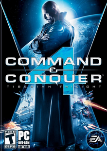 Box art for the game Command & Conquer 4: Tiberian Twilight