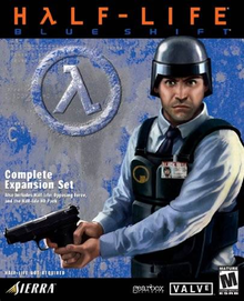 Box art for the game Half-Life: Blue Shift