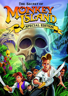 Box art for the game The Secret of Monkey Island: Special Edition