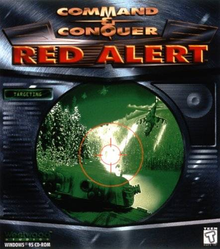 Box art for the game Command & Conquer: Red Alert