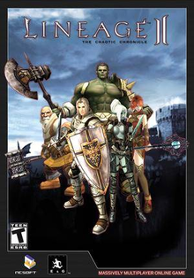 Box art for the game Lineage II: The Chaotic Chronicle