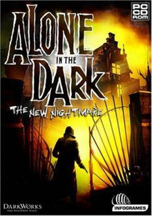 Box art for the game Alone in the Dark: The New Nightmare