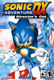 Box art for the game Sonic Adventure DX Director's Cut