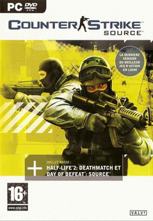 Box art for the game Counter-Strike: Source