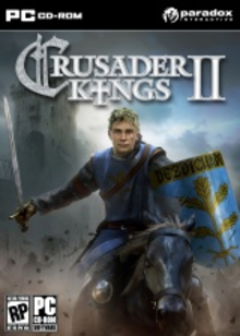 Box art for the game Crusader Kings II