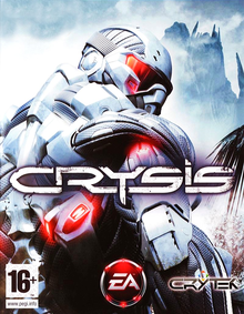 Box art for the game Crysis