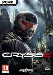 Box art for the game Crysis 2