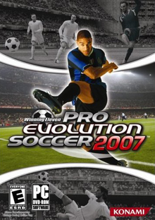 Box art for the game Winning Eleven: Pro Evolution Soccer 2007