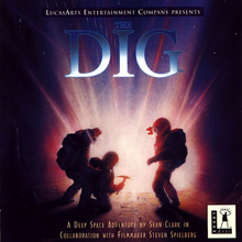 Box art for the game The Dig