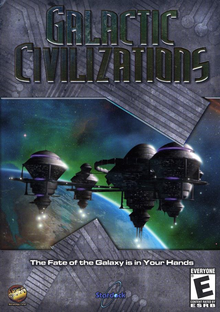 Box art for the game Galactic Civilizations
