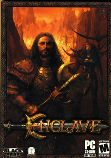 Box art for the game Enclave