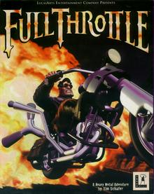 Box art for the game Full Throttle