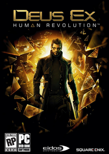 Box art for the game Deus Ex: Human Revolution