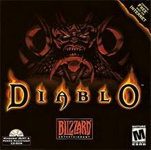 Capa do jogo Diablo