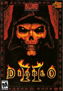 Box art for the game Diablo II