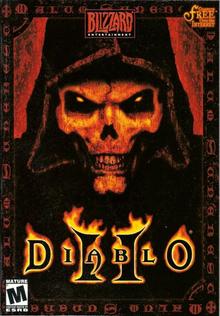 Capa do jogo Diablo II