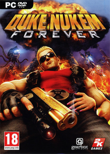 Box art for the game Duke Nukem Forever