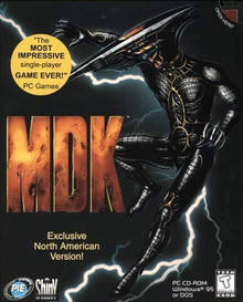 Box art for the game MDK