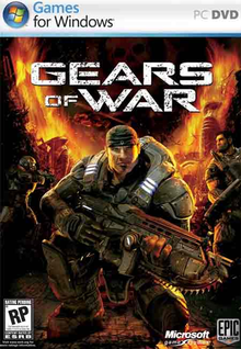 Box art for the game Gears of War