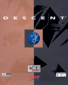 Box art for the game Descent