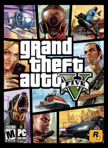 Box art for the game Grand Theft Auto V