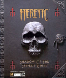 Box art for the game Heretic: Shadow of the Serpent Riders