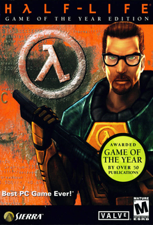 Box art for the game Half-Life