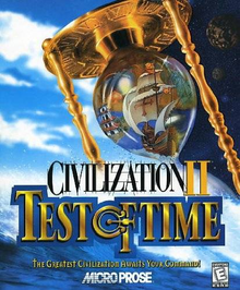 Box art for the game Civilization II: Test of Time