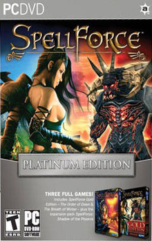 Box art for the game SpellForce: Platinum Edition