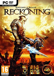 Box art for the game Kingdoms of Amalur: Reckoning