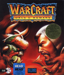 Box art for the game Warcraft: Orcs & Humans