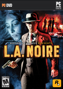 Box art for the game L.A. Noire