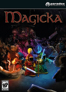 Box art for the game Magicka