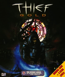 Box art for the game Thief Gold