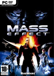 Capa do jogo Mass Effect