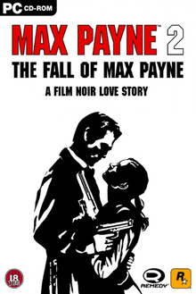 Box art for the game Max Payne 2: The Fall of Max Payne