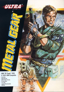 Box art for the game Metal Gear
