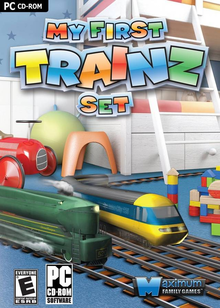 Box art for the game My First Trainz Set